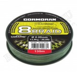 Cormoran Corastrong 8-Braid 135m 0, 25mm FIR IMPLETIT