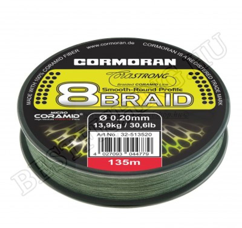 Cormoran Corastrong 8-Braid 135m 0, 12mm FIR IMPLETIT