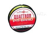 Quantum Quattron PTI-Braid 0. 17mm, 150m, galben