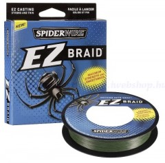 SPIDERWIRE EZ BRAID 0, 35MM 100M LO-VIS GREEN 23, 1KG FIR IMPLETIT